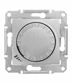 Sedna Ściemniacz uniwersalny RL/RC 20-420VA / 20-320VA aluminium Schneider SDN2201160