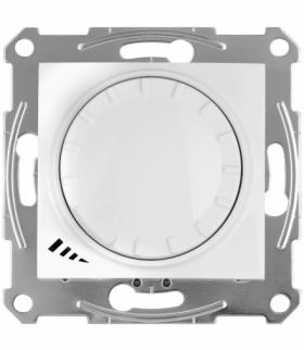 Sedna Ściemniacz uniwersalny z funkcją łącznika schodowego biały Schneider SDN2201221