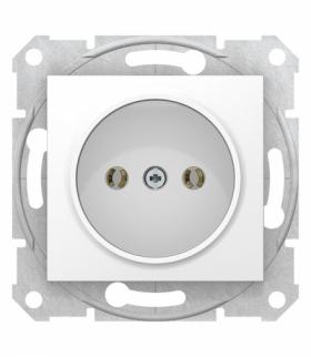 Sedna Gniazdo pojedyncze 2P, biały Schneider SDN2900121