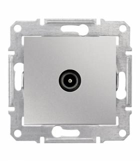 Sedna Gniazdo TV końcowe (1dB) aluminium Schneider SDN3201660