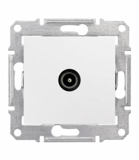 Sedna Gniazdo TV przelotowe 4dB biały Schneider SDN3201821