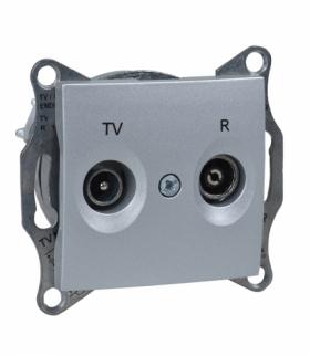 Sedna Gniazdo R/TV końcowe (1dB) aluminium Schneider SDN3301660