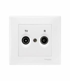Sedna Gniazdo R/TV końcowe (1dB) (DIY) biały Schneider SDN3301721