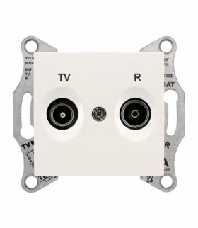 Sedna Gniazdo R/TV przelotowe (4dB) krem Schneider SDN3301823