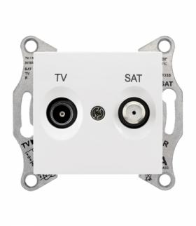 Sedna Gniazdo TV/SAT końcowe (1dB) biały Schneider SDN3401621