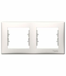 Sedna Ramka 2-krotna pozioma krem Schneider SDN5800323