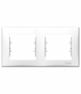 Sedna Ramka 2-krotna pozioma (DIY) biały Schneider SDN5800421
