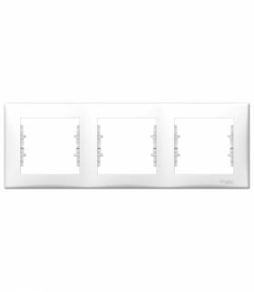 Sedna Ramka 3-krotna pozioma biały Schneider SDN5800521