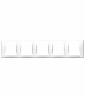Sedna Ramka 5-krotna pozioma biały Schneider SDN5800921