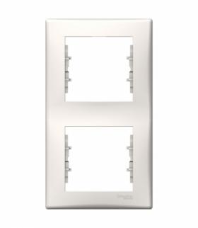 Sedna Ramka 2-krotna pionowa krem Schneider SDN5801123