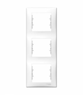 Sedna Ramka 3-krotna pionowa biały Schneider SDN5801321
