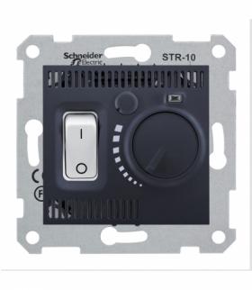 Sedna Regulator temperatury grafit Schneider SDN6000170