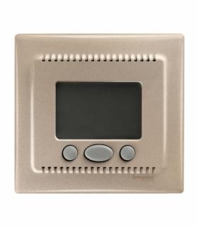 Sedna Regulator temperatury z funkcją komfort satyna Schneider SDN6000268
