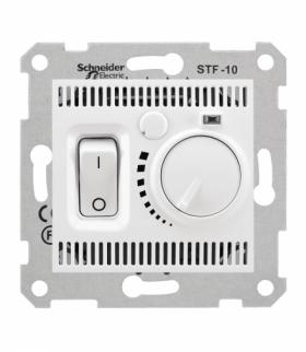 Sedna Regulator temperatury podłogowy biały Schneider SDN6000321