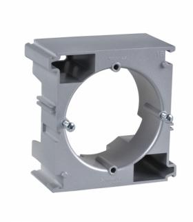 Sedna Podstawa naścienna rozszerzająca w systemie poziomym aluminium Schneider SDN6100260