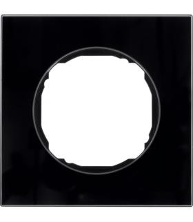 R.8 Ramka 1-krotna,  szkło,  czarny Berker 10112616