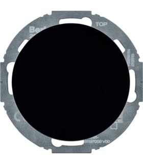 R.classic Rozszerzenie ściemniacza obrotowego komfort z płytką czołową, czarny Berker 29452045