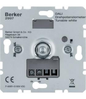 one.platform Potencjometr obrotowy DALI, Tunable White Berker 2997