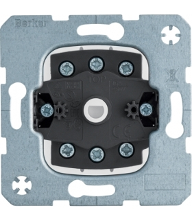 one.platform Łącznik żaluzjowy na klucz 2-biegunowy, zaciski śrubowe Berker 385203