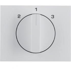 K.1 Płytka czołowa z pokrętłem do łącznika 3-poz. bez pozycji 0 biały Berker 1088710900