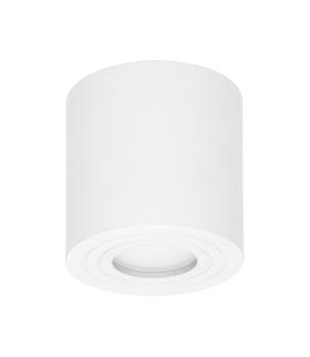MEGY DLR GU10 Oprawa sufitowa do łazienki, hermetyczna, IP54, OKRĄGŁA, BIAŁA, aluminium