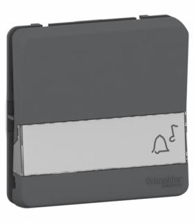 Mureva mechanizm przycisku z polem opisowym antracyt Schneider MUR34029
