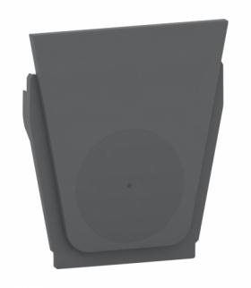 Mureva zestaw 10 wyjść kablowych antracyt Schneider MUR35008