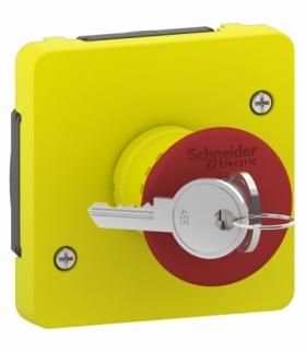 Mureva łącznik awaryjny zwalniany kluczem Schneider MUR35052
