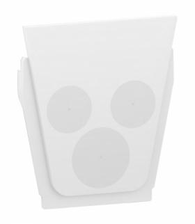 Mureva zestaw 10 wypustów kablowych biały Schneider MUR39007