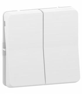 Mureva mechanizm łącznika schodowego podwójnego biały Schneider MUR39022