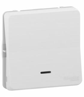 Mureva mechanizm przycisku z podświetleniem biały Schneider MUR39127