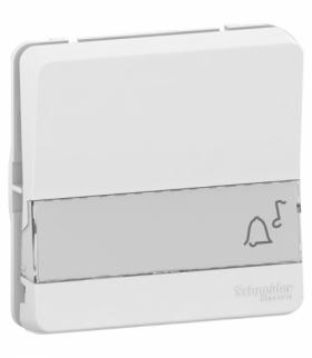 Mureva mechanizm przycisku z polem opisowym biały Schneider MUR39129