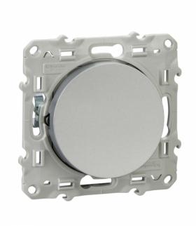 Odace Przycisk 1-biegunowy (DIY) biały Schneider S52D206