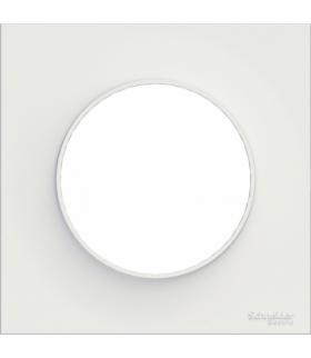 Odace Styl ramka 1-krotna (DIY) biały Schneider S52P702