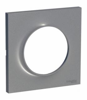 Odace Styl ramka 1-krotna (DIY) aluminium Schneider S52P702E
