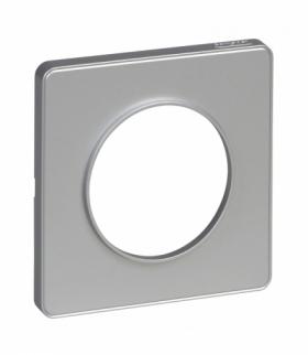 Odace Ramka 1-krotna, aluminium aluminium Schneider S53P802