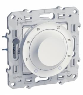 Odace Termostat elektroniczny, obrotowy,  biały Schneider S520501