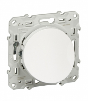 Odace Wypust kablowy, biały Schneider S520662