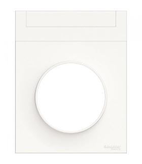 Odace Ramka 1-krotna z etykietką, biały Schneider S52P732