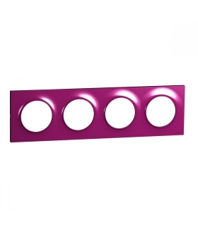 Odace Ramka 4-krotna, purple Schneider S52P708D