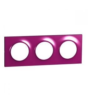 Odace Ramka 3-krotna, purple Schneider S52P706D
