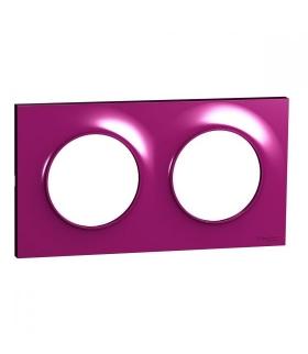 Odace Ramka 2-krotna, purple Schneider S52P704D