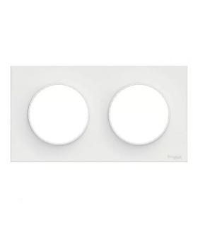 Odace Styl ramka 2-krotna (DIY) biały Schneider S52P704