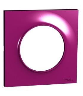 Odace Ramka 1-krotna, purple Schneider S52P702D