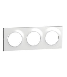Odace Styl ramka 3-krotna (DIY) biały Schneider S52P706