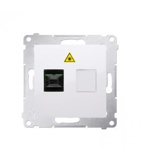 Gniazdo światłowodowe / optyczne pojedyncze biały DGS1.01/11