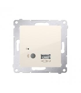 Odbiornik Bluetooth z ładowarką USB kremowy D7501385.01/41