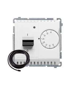 Regulator temperatury z wyświetlaczem z czujnikiem zewnętrzym (sonda) biały BMRT10ZS.02/11