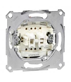 Merten Mechanizm łącznika świecznikowego zacisk bezśrubowy 250VAC 10A