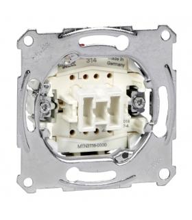 Merten Mechanizm łącznika schodowego zacisk bezśrubowy 250VAC 10A